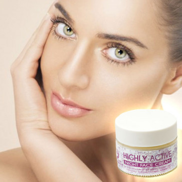 Highly Active Night Creme Κρέμα Νύχτας 50ml