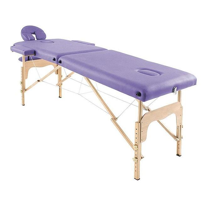 Φορητό κρεβάτι μασάζ ξύλινο