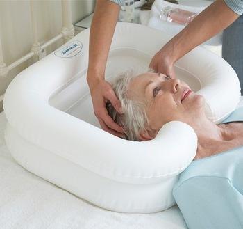 Λουτήρας για μπάνιο ασθενή στο κρεβάτι